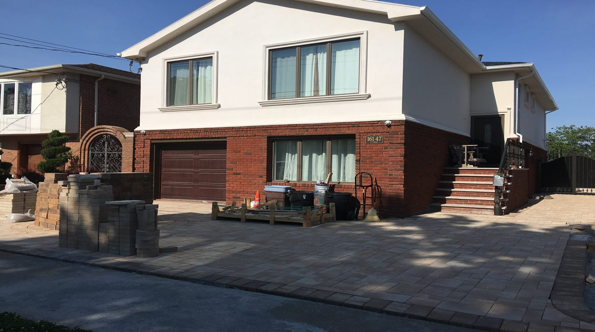 Stucco, Brick and Pavers_2